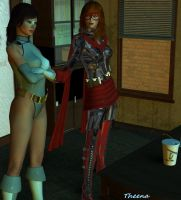 Waiting for Winslow by White0wlsuperheroine