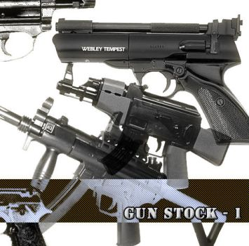 Guns - brushes stock n1 by defeated-stock