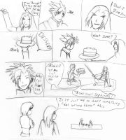 Final Fantasy comic by stalien