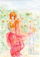 Scent of his love - SanNami OP by Dessie-Edelweiss