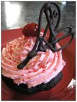 Cupcake with a cherry on top by laurier