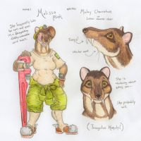 Melissa the Mouse-Deer by Zaphkiellane