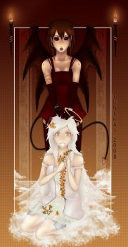 Angel and Devil by Quiss