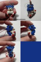 "Sonic ""Classic"" Cellcharm by ChibiSilverWings"