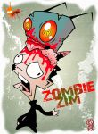 Zombie Zim by Artist-MarcusAlley