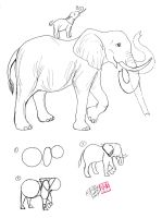 Draw an Elephant by Diana-Huang