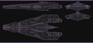 Arion Dreadnought Blue prints by MaragrizX