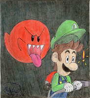 Luigi's Mansion by Dino-drawer
