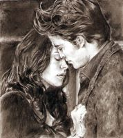 twilight - edward and bella by tengari