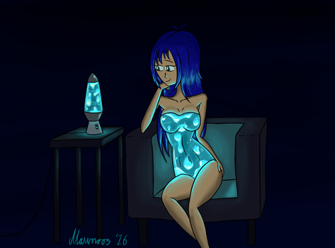 Lava Lamp by Mawnoos