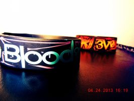 BOTDF bracelet set by RedSilence33