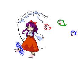 PC98 Ten desires reimu by killerplatypus