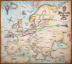 European Travels by Marina-B