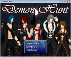 Newest Title Screen! by DemonHuntRPG