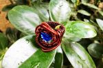 Wire woven ring. by mariachughtai