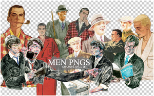 MEN pngs by s3cretlady