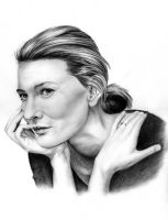 Cate Blanchett by Hilly16