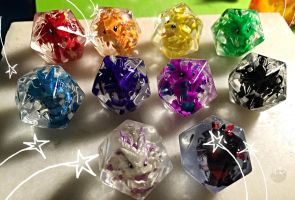 Official Dragon Dice by LittleCLUUs
