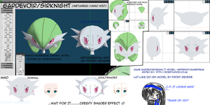 Gardevoir WIP by front-reverie