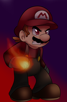 Dark mario by raygirl12