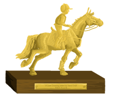 Petplan Sussex Horse Trials Trophy - First Place by femalefred