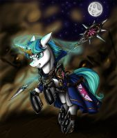 Commission - Brightest Star by Longinius-II