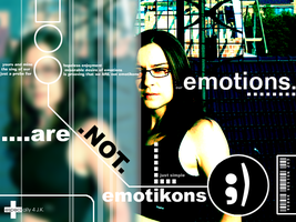 Our emotions are not emoticons by robak