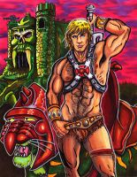 He-Man Master of the Universe by KwongBee-Arts