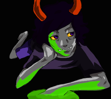 Gamzee Without Makeup by gaaradesertdreams