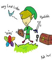 Hey Link~!!! by Nintendo-Lover-Kat