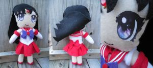 Sailor Mars Plushie by frillycarnival