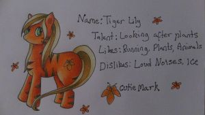 Tiger Lily referece by TaitRochelle