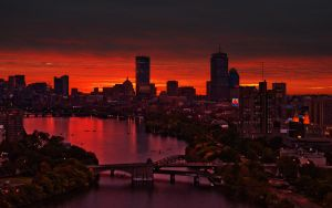 Morning on the Charles River by dophineh