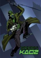 Green Kaoz commission by spidey0318