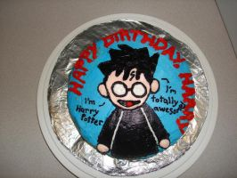 Harry Potter's Birthday Cake by wotchertonks7