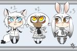Snowy Adoptables - OPEN by MadMegane