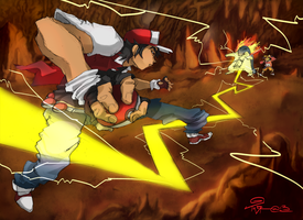 The Legendary Battle Begins... by TaraGraphic