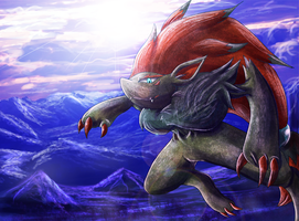 Zoroark's Dawn by Deruuyo