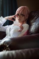 Claire Farron, Lightning by xwickedgames