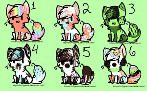 Sweet Cats adopts by KoyMcFluffyPants