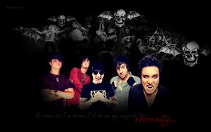 Avenged Sevenfold Wallpaper by randomflowers