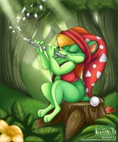 Forest Melody by AmandaDaHamster