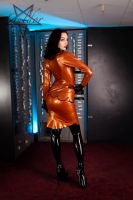 Bank staff in Latex 08 by GuldorPhotography