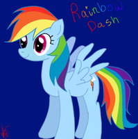 rainbow dash by ninja-chopsticks