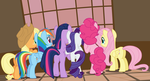 Vector #638 - Crowd at the Window by DashieSparkle