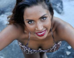Saba - the leopard smiles 1 by wildplaces