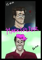 Timed drawing challenge: Markiplier by LxiArt