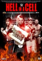 WWE Hell in a Cell 2014 Poster by Chirantha