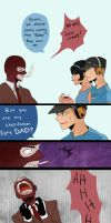 Team Fortress 2: Father and Son by LonKain
