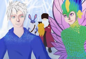 Rise of the Guardians by NegxPosxReal